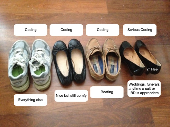 Awesome shoes! (via @CoderGirlLiz)